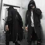 個性溢れる サマー スプリング フードコート  ヴィジュアル系 V系 ゴスロリ ゴシック ビジュアル系 バンド 韓流 韓国 ファッション メンズ モー