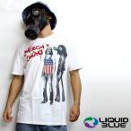 b系ファッション メンズ Tシャツ ダンス 衣装 ヒップホップ ストリート系 LIQUID BLUE Cheech&Chong