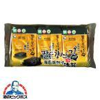 おかず つまみ のり ヒトシナ商事 韓国味付け海苔 8切8枚3袋×1個