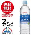 ポッカサッポロ 富士山麓のおいしい天然水 530ml×2ケース/48本(048)