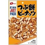 なとり JUSTPACK つぶ餅ピーナッツ 75g×10個(010)
