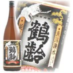 鶴齢 純米酒 1800ml 新潟県 sake