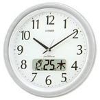 CITIZEN シチズン リズム時計 クロック 電波掛け時計 ネムリーナカレンダーM02 4FYA02-019