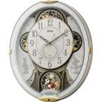 RHYTHM リズム時計 クロック Disney ディズニー 電波掛け時計 からくり時計 メロディ付 ミッキー&フレンズM509 4MN509MC03