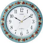 CITIZEN シチズン リズム時計 クロック 電波掛け時計 プリュマージュM468 8MY468-005