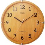 CITIZEN シチズン リズム時計 クロック 電波掛け時計 シンプルモードアークF 8MYA22-007