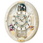 SEIKO セイコー ミッキー&フレンズ Disney ディズニー 電波掛け時計 からくり時計 メロディ付 FW574W