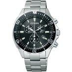 サイズ調整無料 CITIZEN シチズン ALTERNA オルタナ  エコドライブ時計 クロノグラフ メンズ腕時計 VO10-6771F