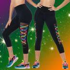 新作 美脚 ズンバ ヨガウェア エアロビクスウェア ランニングウェア ダンス衣装 フィットネス パンツ ZUMBAウェア レギンス Z1062