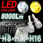 送料無料 LEDフォグランプ  H8 H11 H16 HB4 PSX26W 80W CREE ホワイト LEDバルブ