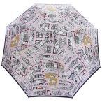 ショッピングマンハッタナーズ Manhattaner`s 日本製雨傘(長傘) 猫のマンハッタン凱旋 ピンク KM-82L