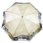 ショッピングマンハッタナーズ Manhattaner`s 日本製雨傘(長傘) ポンテ・ベッキオ橋と猫友たち ベージュ KM-83L