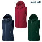 mont-bell : モンベル  O.D.フードベスト Women's  レディース コットンのような柔らかさと肌触り  防風ベスト