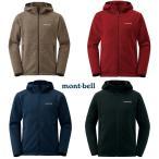 mont-bell : モンベル 1106589  クリマプラス ニットパーカ Men's  男性用 メンズ セーター調の上質な風合いを持つフリース素材