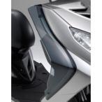 Y'S GEAR:ワイズギア XC125Fi シグナスX用XC125FIサイドバイザー【スモーク】/90793-53080/907935308000 カスタム パーツ