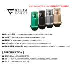DELTA FORCE MIL NUTS デルタフォース シリーズ ミルナット 50mmロング貫通アルミナット 20個 5穴用 選べるナットカラー 日本製 軽金属