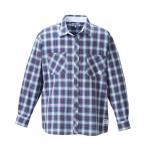 大きいサイズ メンズ OUTDOOR PRODUCTS ロールアップ長袖チェックシャツ 3L 4L 5L 6L 8L