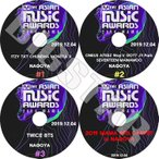 K-POP DVD/2019 Mnet Asian Music Awards/4枚SET/2019.12.04★BTS TWICE SEVENTEEN MONSTA X 他/コンサート LIVE KPOP DVD