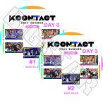 K-POP DVD KCONTACT 2020 SUMMER DAY 3  2枚SET 2020.06.22 IZONE TXT SF9 EVERGLOW ONF  LIVE コンサート KPOP DVD