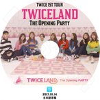 K-POP DVD/TWICE 1st Tour TWICELAND V LIVE The Opening Party (2017.01.14)/日本語字幕あり/トゥワイス KPOP DVD/
