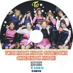K-POP DVD/TWICE KNOCK KNOCK COUNTDOWN ONCE! KNOCK KNOCK!★(2017.02.19-20)/日本語字幕あり/