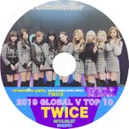K-POP DVD/TWICE 2019 GLOBAL V LIVE TOP10 (2019.02.27)/日本語字幕あり/TWICE トゥワイス KPOP DVD