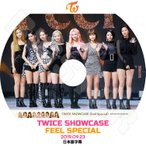 K-POP DVD/TWICE SHOWCASE (2019.09.23) FEEL SPECIAL/日本語字幕あり/トゥワイス KPOP DVD