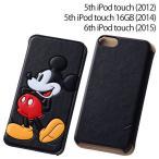 ☆ ディズニー iPod touch 2012/14/15 専用 ポップアップ・ブックレザーケース (合皮) ミッキー RT-DT7J/MK
