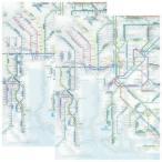☆ 鉄道路線図 クリアファイル 中部版 日本語&英語セット RFCJ/RFCE