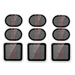 スレンダートーン 互換 ジェルパッド スレンダートーン エボリューション 腹筋用 パット  9枚セット 3枚 3個セット EMS ジェルシート