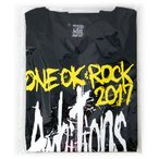 "ONE OK ROCK 2017 ""Ambitions"" JAPAN TOUR Tシャツ-A(Ambitions)(L)◆新品Ss【ゆうパケット非対応/送料680円〜】【即納】"