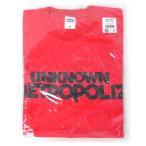 三代目J Soul Brothers/UNKNOWN METROPOLIZ ツアーTシャツ RED 赤(M)◆新品Ss【ゆうパケット非対応/送料680円〜】【即納】