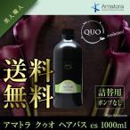 アマトラ クゥオ ヘアバス es 1000ml あすつく (送料無料) (詰替え・ポンプなし) (シャンプー) (Amatora QUO)(バレンタイン)