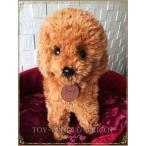 犬 ぬいぐるみ リアルな犬のぬいぐるみ ふわふわ 大きい トイプードル プレゼント 犬のぬいぐるみ かわいい 条件付き送料無料 アプリコット 大