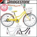 BRIDGESTONE(ブリヂストン) ジュニアサイクル ワイルドベリー WB204(ダイナモランプ)(シングルスピード)(タイヤサイズ:22×1-3/8)(女の子用)(自転車)(子供車)