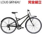 ルイガノ マルチウェイ26 MATTE LG BLACK クロスバイク LOUIS GARNEAU MULTIWAY26