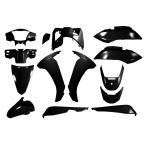 新品 リード125 外装14点セット ブラック JF45 黒 カウルセット 外装セット 塗装済み バイクパーツセンター