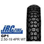 IRC トレールタイヤ GP1 2.50-19 4PR WT フロント バイクパーツセンター