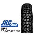 IRC トレールタイヤ GP1 3.00-17 4PR WT リア バイクパーツセンター