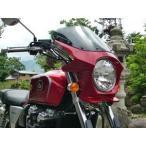*cb1100 ビキニカウル ds-01 タイプRスクリーン 純正色塗装 ABS製 ボルト付