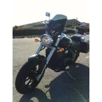 ブルバードm109r WS-02W 汎用 スクリーン シールド 風防 バイク用 クリア スモーク