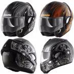 Shark Evoline Series 3 Mezcal Chrome 2016モデル フルフェイス フリップアップ ヘルメット オンロード バイク ライダー ツーリングにも