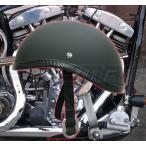 【今だけ送料無料】 ダックテール ヘルメット 装飾用 艶無しマットブラック ハーレー ナックル パン ショベル アメリカン