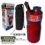 エトスデザイン FS1.0 レッドキャメルガソリン携行缶 1リットル エトスデザイン FS1.0