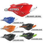 ACERBIS アチェルビス AC-22397BK/GR X-FACTORY ハンドガード ブラック/グリーン