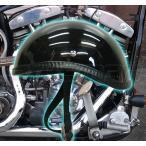 【今だけ送料無料】 ダックテール ヘルメット 装飾用 艶在りブラック ハーレー ナックル パン ショベル アメリカン