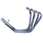 GSX400インパルス GK79A マフラー ショート管 メッキ バーテックス GSX400インパルス マフラー