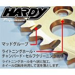 HARDY HS900450 スプロケット TT-R/DT-WR/3ET/YZ 50T ラフ&ロード