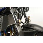 K-FACTORY フロントフォークガード チタン HG-M CB750 ZEPHYR1100 GPZ900R XJR1300 BANDIT1200 GSX1400など
