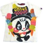 【返品・交換不可】60%OFF セール crazy go go クレイジーゴーゴー 子供服 16春夏 GOGOパンダTシャツ